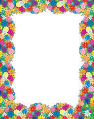 Flower photo-frame
