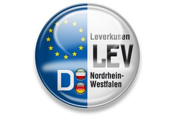 Autokennzeichen: LEV, Leverkusen, Nordrhein-Westfalen
