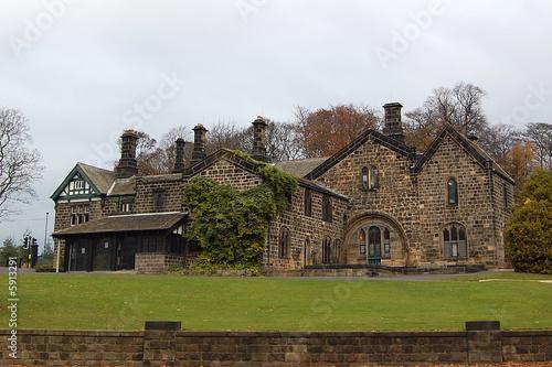 Casa di campagna inglese immagini e fotografie royalty for Case inglesi foto