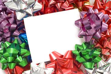 Christmas Bow Notecard