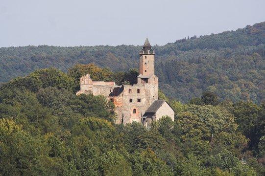 Old castle Grodno - poland - Kotlina klodzka