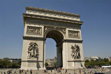 Photo sur Toile Paris View on the