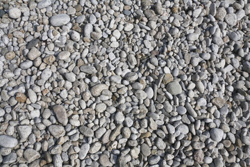 beach white and gray pebble background