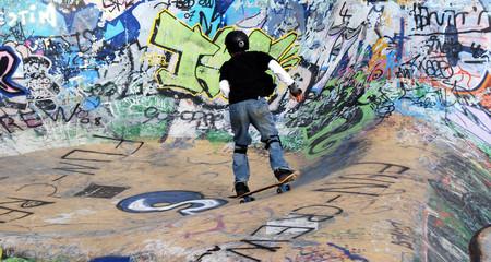 Enfant au Skate 01