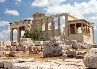The Acropolis in Athens, Grecce