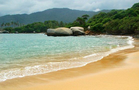 Strand im Tayrona Nationalpark