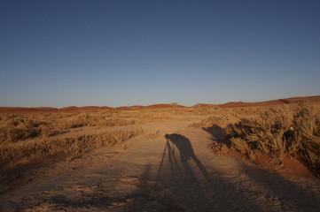 Schatten des Fotografen