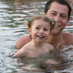 Père et fille à la piscine #5