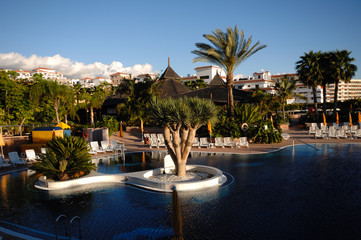Hotel resort with a very nice swimmingpool