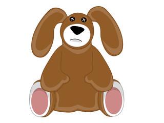 Sad Puppy Dog Stuffed Animal