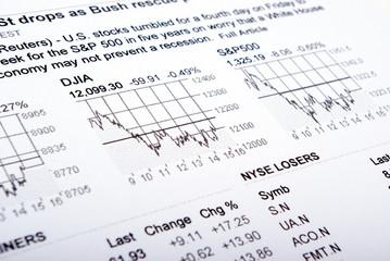 business diagram- close up ,numeric factors incom
