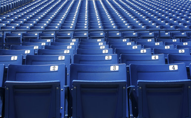 Printed roller blinds Stadion Stadium/Arena Seats