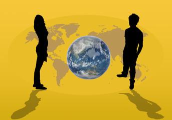 planete, couple