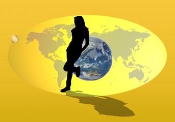 planete, femme 2