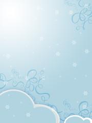 sfondo neve