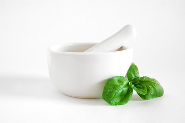 Mortar and basil