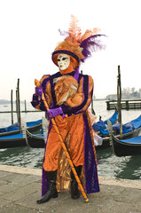 Poster Ranch Venice carnival mask