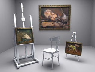 oil pictures in atelier 7