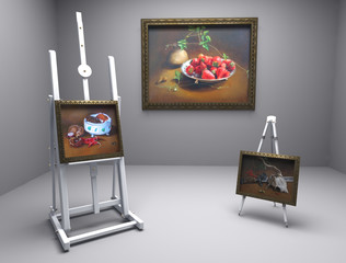 oil pictures in atelier 6