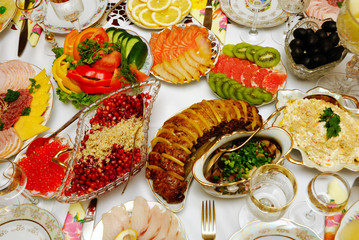 table arrangement for celebration