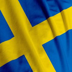 Swedish Flag Closeup