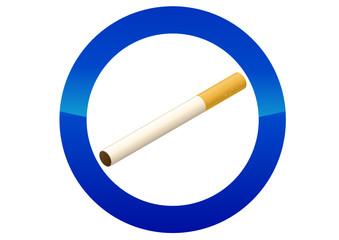 Autorisation de fumer (reflet)