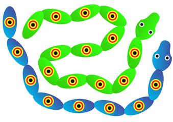 plastic snake toys