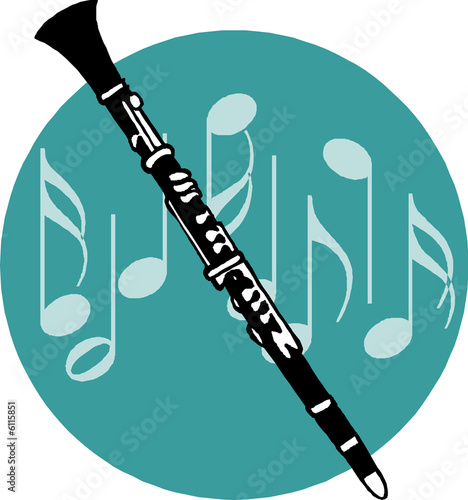 flute clipart black and white - 800×854