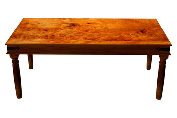 Traditional wooden table to stand your products