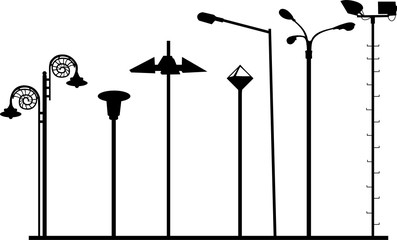 Straßenbeleuchtung 3 Fotomurales