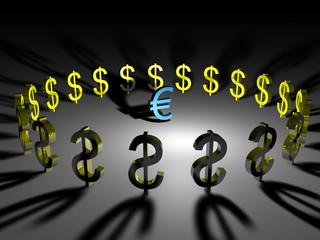euro vs dolar 4