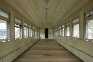 Old Train Interior