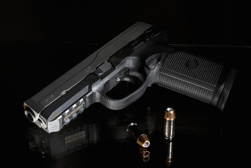 handgun that's chambered for .