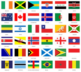 national flags of the world countries