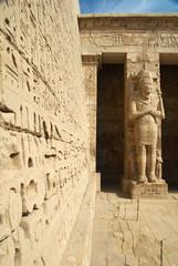 Medinet Habu ancient Egypt temple