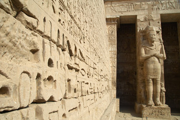 Medinet Habu ancient Egypt temple