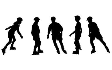 inline skater - personen