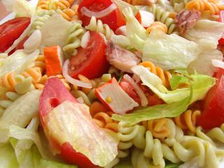 Vegetable salad. Background
