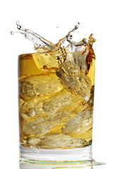 Fototapete - scotch on the rocks