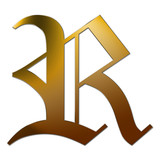Gold letter p with silver edge in 3d stock photo and royalty free gold letter r with silver edge in 3d altavistaventures Image collections