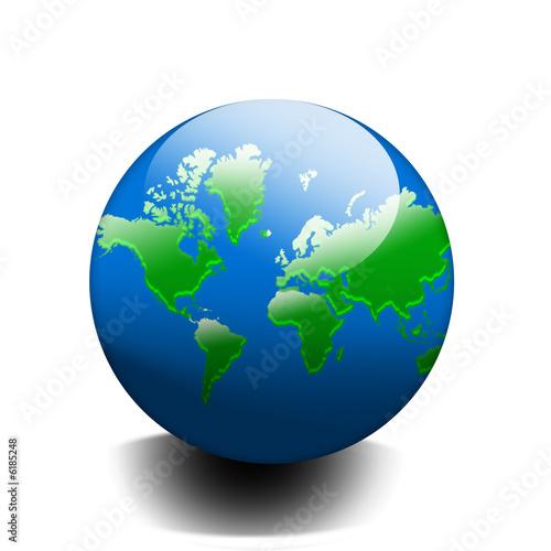 """Dessin Planète Terre planete terre dessin crystal fond blanc detouré"""" stock photo and"""