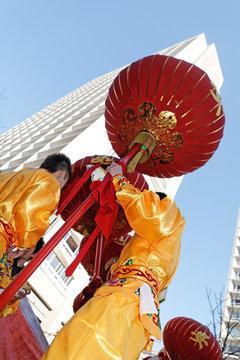 Nouvel an chinois  et tour du 13eme