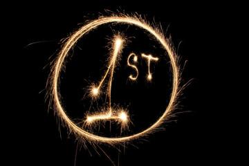 first number one sparkler ring