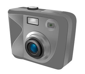 kamera silber