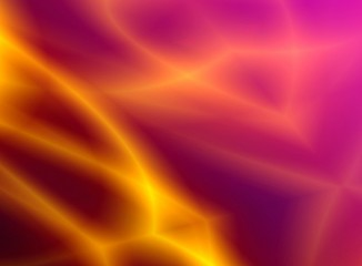 Abstraction glow background