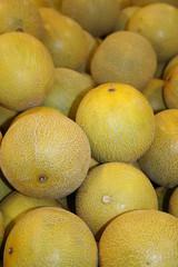 Melon for sale in Supermarket