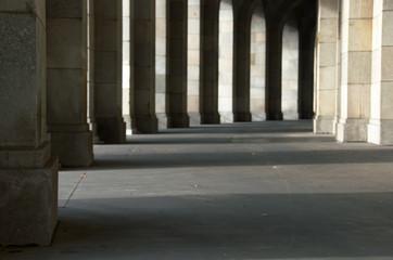 Arches autour du Palais des Congres d'Hitler, Nuremberg