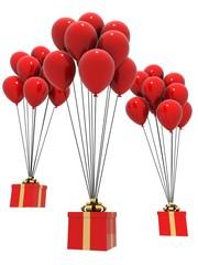 fliegende geschenke