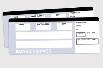 Two Airplane tickets