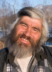 Portrait of Man with Beard 19